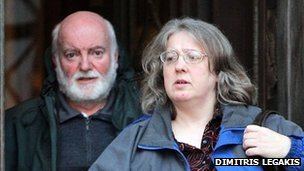 Jeffrey Gravell and Helen Griffiths