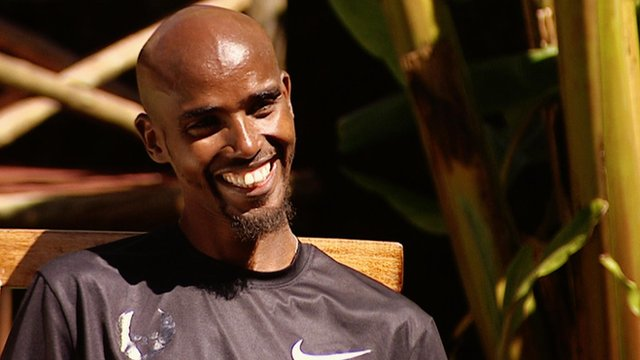 World 5000m champion Mo Farah
