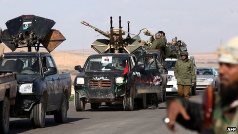 Libya's revolutionary forces have reportedly been expelled from the former Gaddafi stronghold of Bani Walid