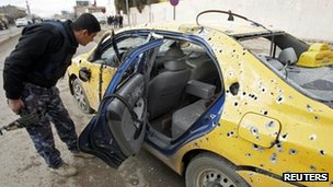 Three people were killed in an attack in the northern city of Kirkuk