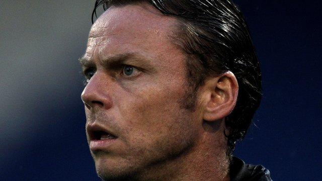Oldham manager Paul Dickov