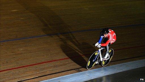Team GB para-cyclist Mark Colbourne