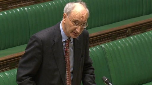 Commons Leader Sir George Young