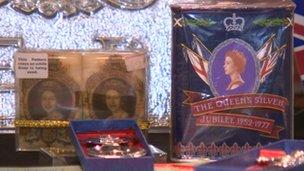 Silver Jubilee memorabilia