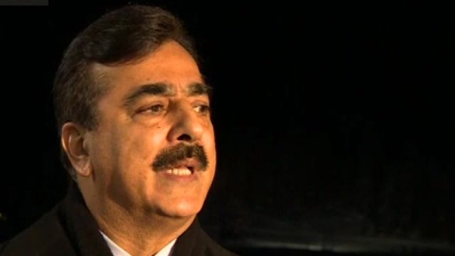 Prime Minister Gilani