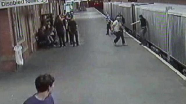 Attack at Shrewsbury railway station