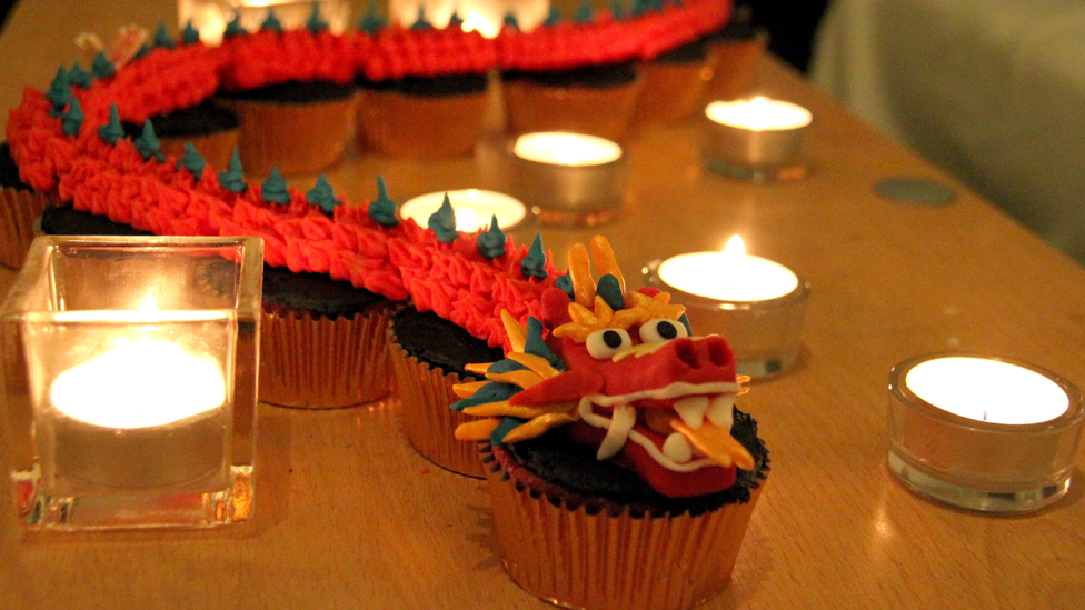 chinese new year was celebrated by rui chen from china