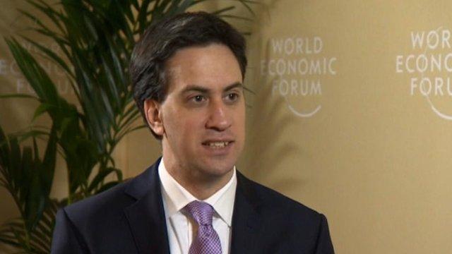 Ed Miliband speaks out against RBS bonus