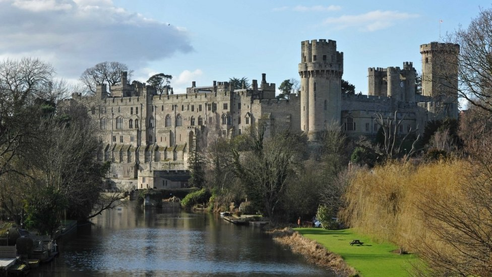 Queen's Castle In England BBC News - In p...