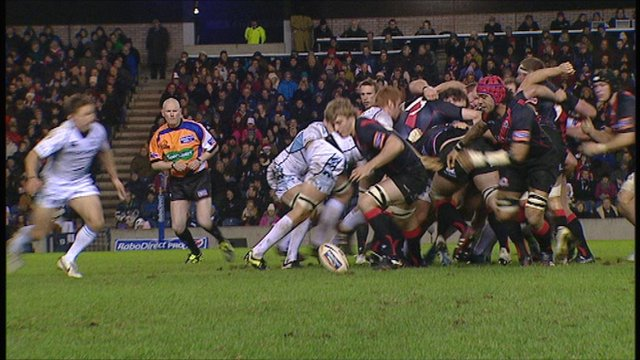 Highlights Edinburgh 23-23 Glasgow