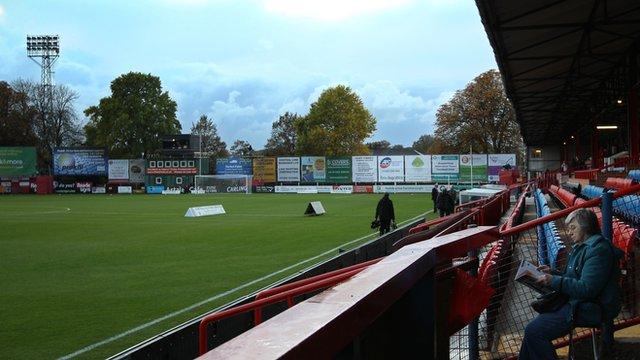 Aldershot Town's EBB Stadium