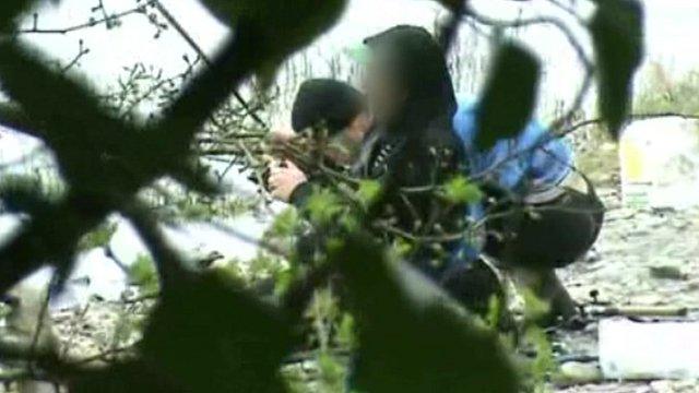 Suspected poachers caught on film