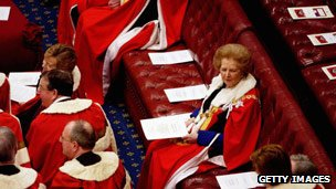Margaret Thatcher in the House of Lords