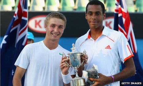 Liam Broady and Joshua Ward-Hibbert