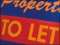 'To Let' sign