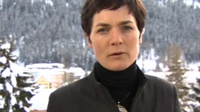 Ellen MacArthur in Davos