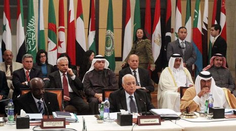 The Arab League is a voluntary group of 22 countries who are mainly Arabic speaking.