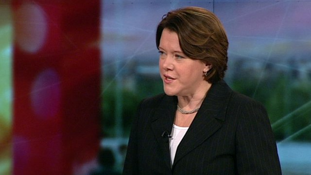 Work and Pensions Minister, Maria Miller