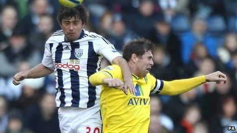 Grant Holt (right) was on the scoresheet for Norwich