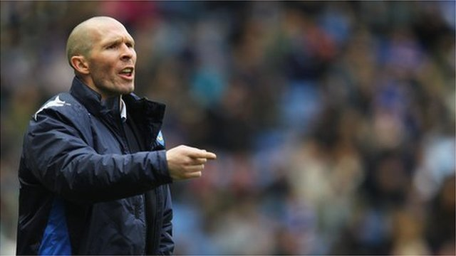 Portsmouth manager Michael Appleton