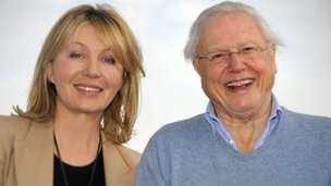 Kirsty Young and Sir Richard Attenborough