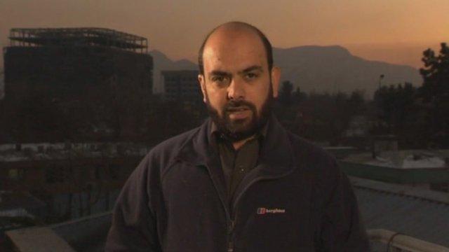 BBC correspondent Bilal Sarwary