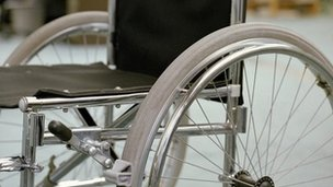 Wheelchair (generic image)