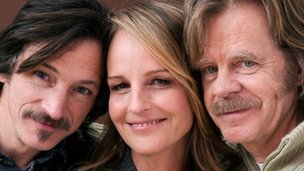 John Hawkes, Helen Hunt and William H Macy