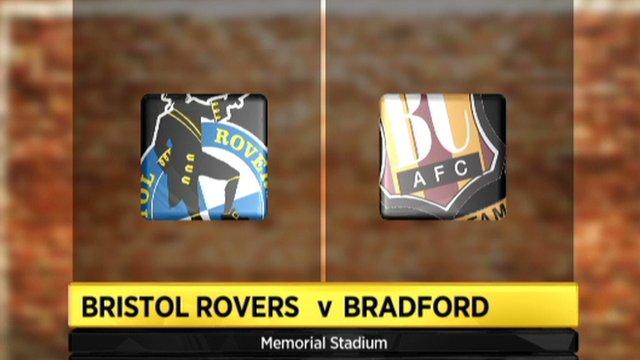 Bristol Rovers 2-1 Bradford