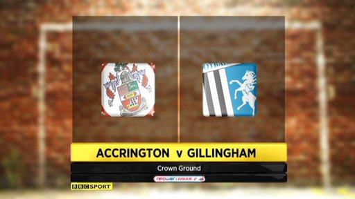 Accrington 4-3 Gillingham