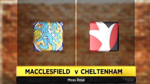 Macclesfield 1-3 Cheltenham