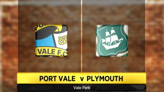 Port Vale 1-0 Plymouth