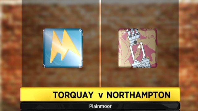 Torquay 1-0 Northampton