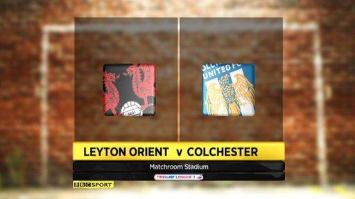 Leyton Orient 0-1 Colchester