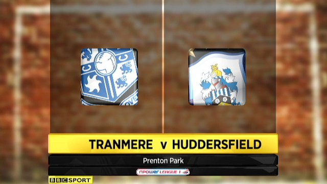 Highlights - Tranmere 1-1 Huddersfield