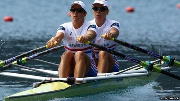 Anna Watkins and Katherine Grainger