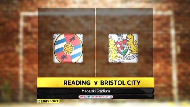 Highlights - Reading 1-0 Bristol City