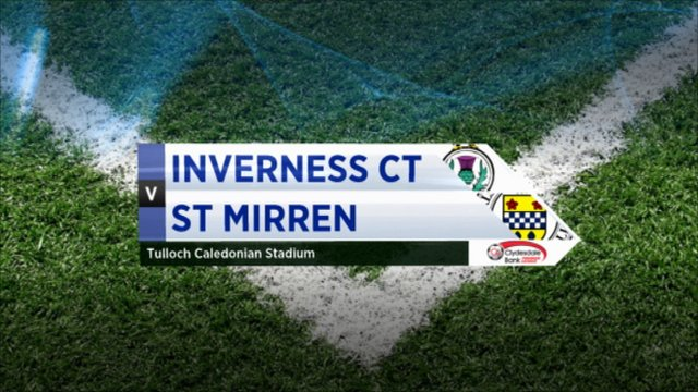 Highlights - Inverness CT 0-0 St Mirren