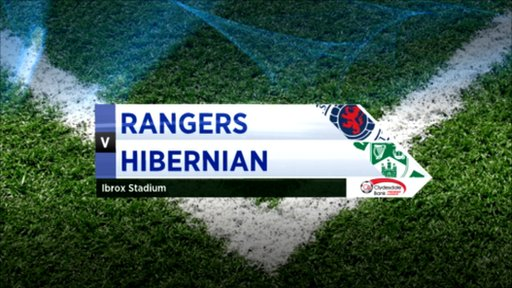 Highlights Rangers 4-0 Hibernian