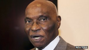 Senegal's President, Abdoulaye Wade (pictured in 2010)