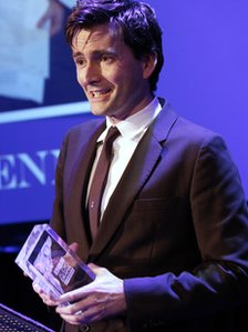 David Tennant at the BBC Audio Drama Awards