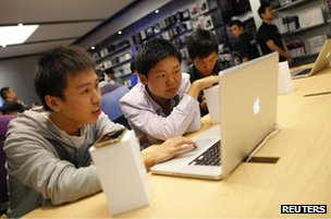 New Apple store in Shanghai