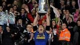 Leeds Rhinos celebrate winning the 2011 Grand Final