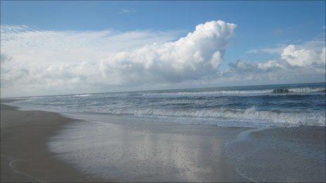 Loango beach
