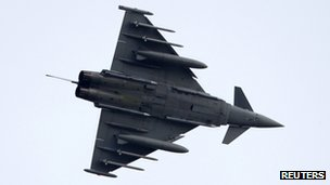RAF Eurofighter Typhoon, file pic