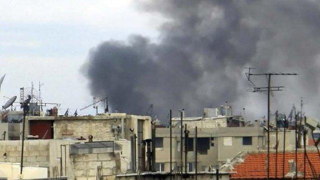 Homs skyline