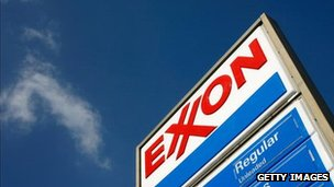 Exxon sign
