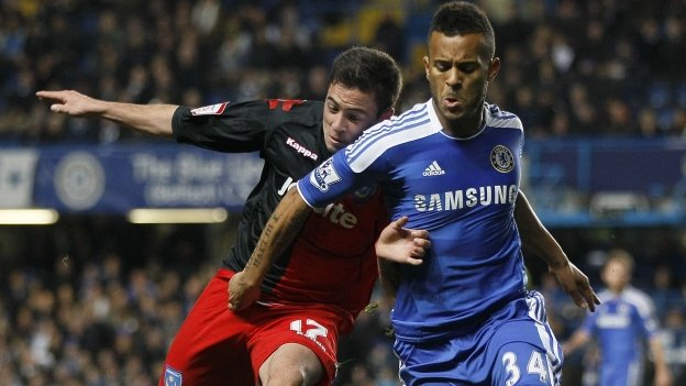 Ryan Williams and Ryan Bertrand