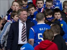 Rangers chairman Craig Whyte and fans