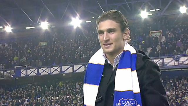 New Everton signing Nikica Jelavic